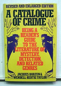 A Catalogue of Crime