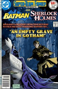 The Super-Team Family blog mashes up heroes from different pantheons (panthea?). earlier this month it brought together Holmes and Batman.