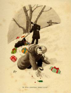 Sherlock Holmes Xmas card
