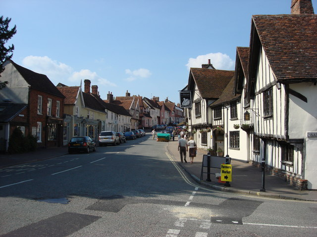 Lavenham - the real-life Lindsay Fairfax? Image © Copyright Oxyman and licensed for reuse under a Creative Commons Licence.
