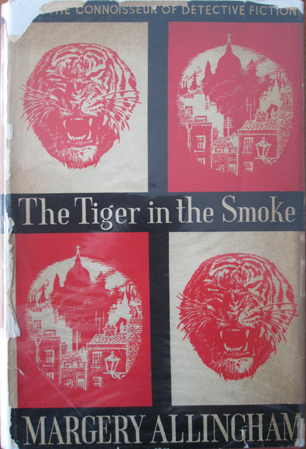 My first edition copy – with a cover designed by Allingham's husband Philip 'Pip' Youngman Carter. So yes, I have five different versions of this book.