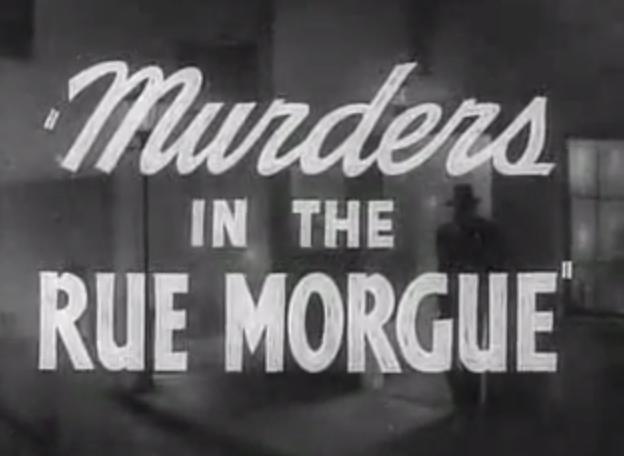 Resultado de imagen de The murders in the Rue Morgue tumblr