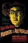 Murders in the Rue Morgueposter