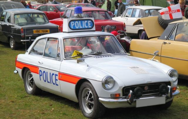 1971 police car