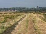 A Flegne-like landscape at Morston Salt Marshes. Picture by Colin Park, geograph.org.uk