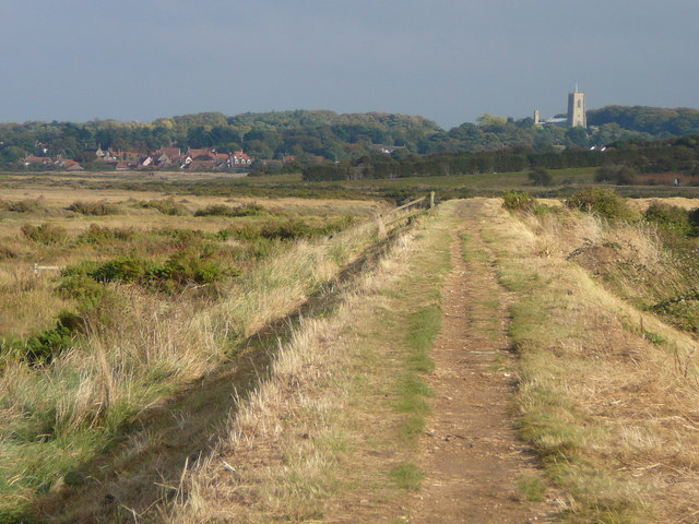 A Flegne-like landscape at Morston Salt Marshes. Picture by Colin Park, geograph.org.uk