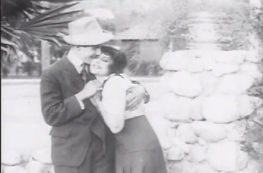 Charley Chase and Fontaine La Rue