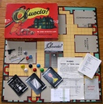 The classic mystery board  game Cluedo was launched in the UK by Waddington's in 1949 (and in the US, as Clue, later in the year).