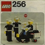 LEGO 256 Police Officers and Motorcycle, released in 1976
