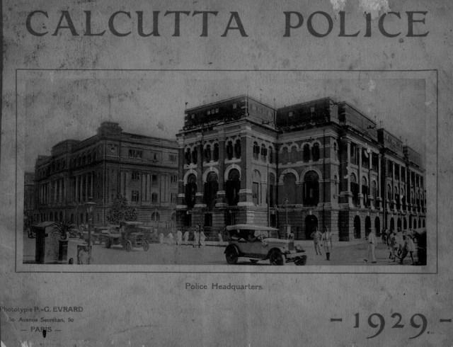 1929_Calcutta_police