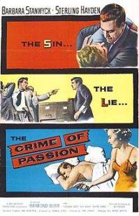 CrimepassionPoster